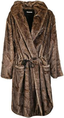 Mes Demoiselles Faux Fur Coat