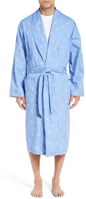 Men's Polo Ralph Lauren 'Polo Player' Cotton Robe $65 thestylecure.com