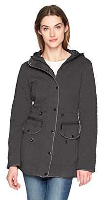 Yoki Women's Fleece Anorak Jacket With Hood
