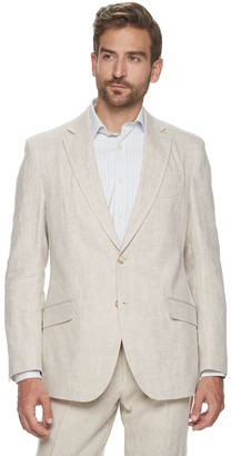 Kroon Men's Modern-Fit Linen Suit Jacket