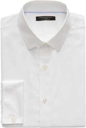 Banana Republic Camden Standard-Fit Non-Iron Stretch French Cuff Shirt
