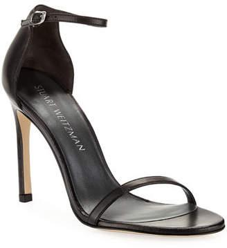 ee5ede2a466a Stuart Weitzman Nudistsong 90mm Minimalist Leather Sandals