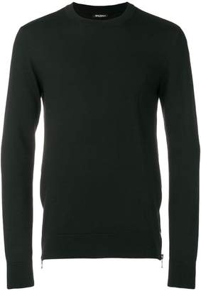 Balmain zipped fitted sweater