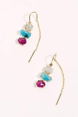 Tai Opal Threader Earrings