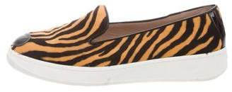 Hogan Katie Grand Loves Ponyhair Slip-On Sneakers
