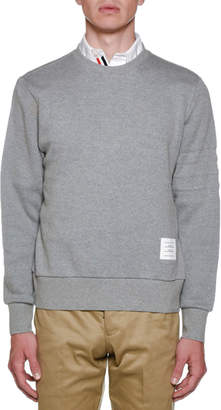 Thom Browne Men's Chunky Honeycomb Sweatshirt