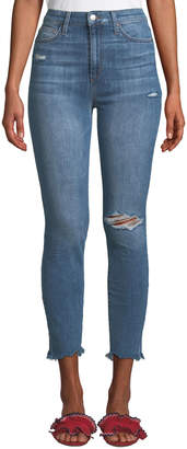 Joe's Jeans Charlie Sharkbite-Hem Ankle Jeans