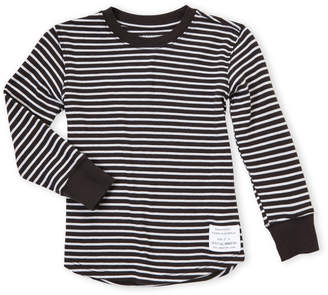 Spiritual Gangster Toddler Girls) Good Vibes Stripe Shirt