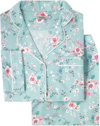 Cath Kidston Trailing Rose Brushed Flannel Long PJ Set