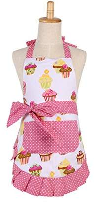 G2PLUS Cotton Aprons for Kid Girls
