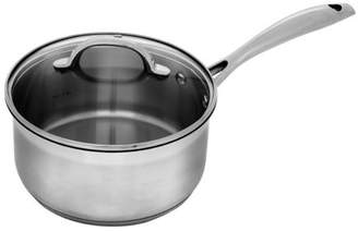 "Swiss Diamond Premium Steel - Stainless Saucepan with Lid - 3.1 qt (8"")"