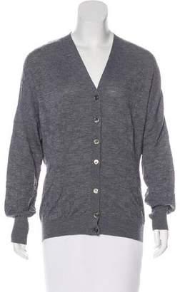 Louis Vuitton Textured Wool Cardigan