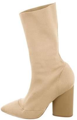 Yeezy Season 4 Pointed-Toe Sock Boots