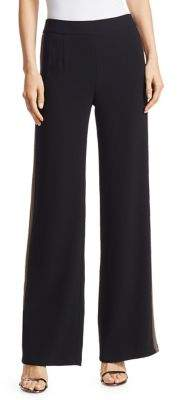 Nanette Lepore Crepe Ribbon Stripe Trousers