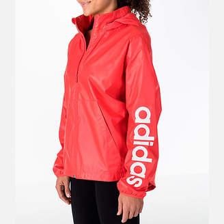 adidas Women's Linear Training Windbreaker Jacket