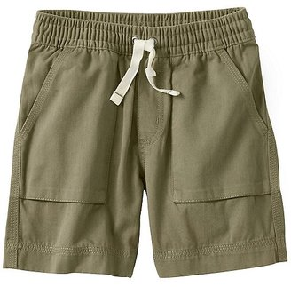 Boys Washed Twill Cabin Shorts $39 thestylecure.com