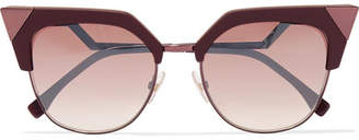 Fendi Cat-eye Acetate And Metal Sunglasses