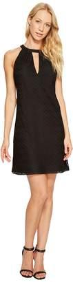 Jessica Simpson Halter Neck Lace Dress Women's Dress