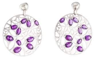 Di Modolo Amethyst Medallion Drop Earrings
