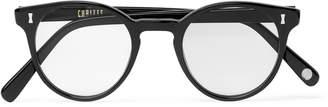 Cubitts - Round-Frame Acetate Optical Glasses - Men - Black
