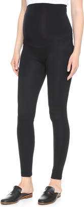 Ingrid & Isabel Ponte Skinny Maternity Leggings $98 thestylecure.com