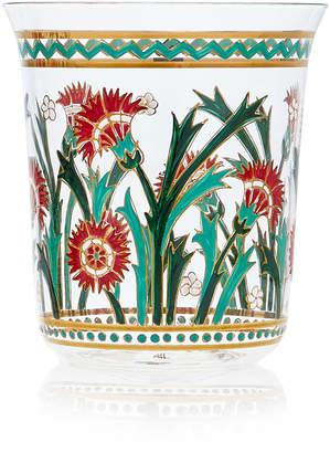 Lobmeyr Persian No. 2 Handpainted Floral Motif Tumbler