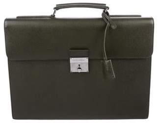Dolce & Gabbana Saffiano Leather Briefcase