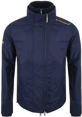 Superdry Hooded Arctic Windcheater Jacket Navy