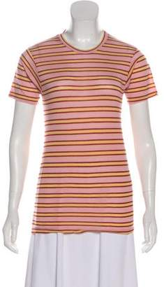 Reformation Striped Short Sleeve T-Shirt