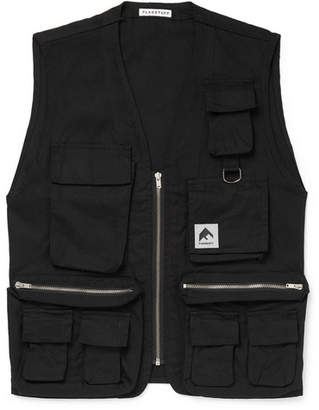 Flagstuff Cotton-Canvas Gilet