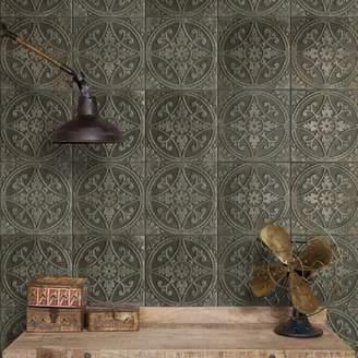 EliteTile SAMPLE - Castile Ceramic Floor and Wall Tile in Green