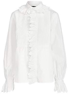 Polo Ralph Lauren Women's Tuxedo Blouse