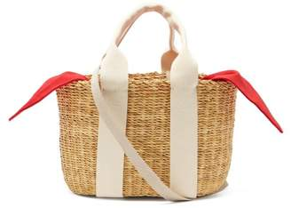 Muun Mini Caba Straw Bag - Womens - Red
