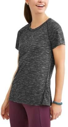 Athletic Works Women's Core Active Short Sleeve Crewneck Performance T-Shirt