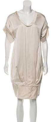 Valentino Short Sleeve Knee-Length Dress w/ Tags