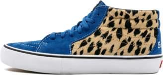 e33710c2f5 Vans Sk8-Mid Pro (Supreme) (Supreme Cheetah Velvet) Royal