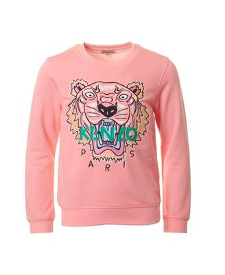 Kenzo Iconic Tiger Embroidered Sweat