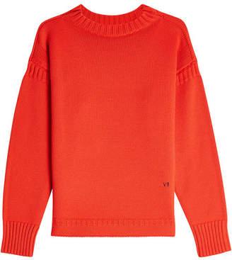 Victoria Beckham Guernsey Merino Wool Pullover
