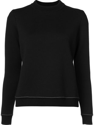 Vera Wang slit back sweater $1,095 thestylecure.com