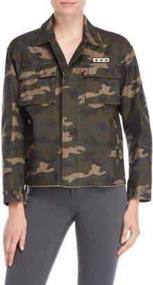 Levi's Camo Step-Hem Utility Jacket