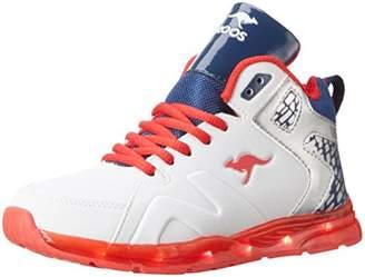 ... KangaROOS Unisex Kids  K-lev Vi Hi Low-Top Sneakers Multi-Coloured 91d74878cc7