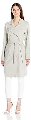 Armani Jeans Women's Long Jacket with Belt