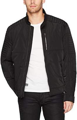 William Rast Men's Mid Weight Bomber Jacket