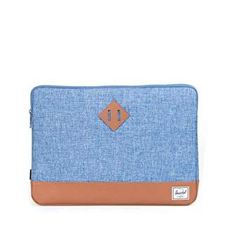 Herschel (ハーシェル) - [ハーシェルサプライ] ANCHOR SLEEVE FOR MACBOOK 15INCH SLEEVES 10056-00918-15 00918 LIMOGES CROSSHATCH/TAN