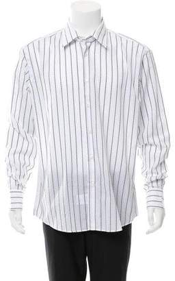 Versace Striped Button-Up Shirt w/ Tags