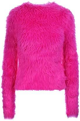 Balenciaga Fuchsia Crewneck Sweater
