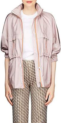 Prada Women's Tech-Taffeta Windbreaker - Pink