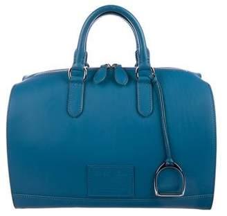 Ralph Lauren Leather Bowler Bag