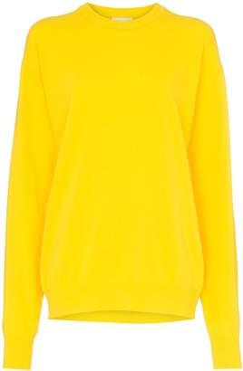 Calvin Klein Jeans Est. 1978 logo bio print sweater