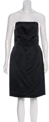 Marc Jacobs Strapless Mini Dress Black Strapless Mini Dress